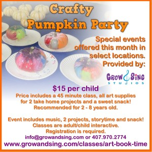 Crafty Pumpkin Party
