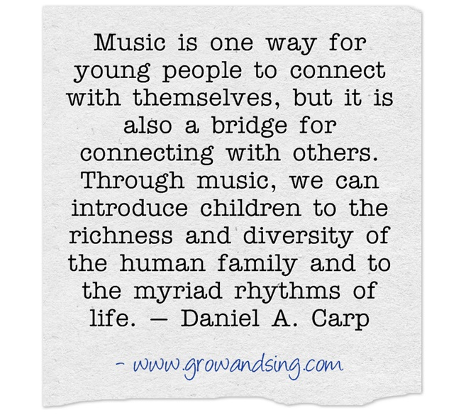 Music Is One Way For Young People To Connect