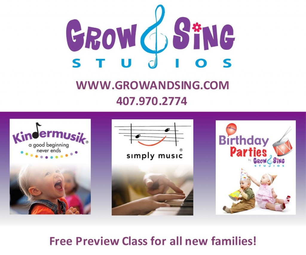 Grow and Sing Studios services