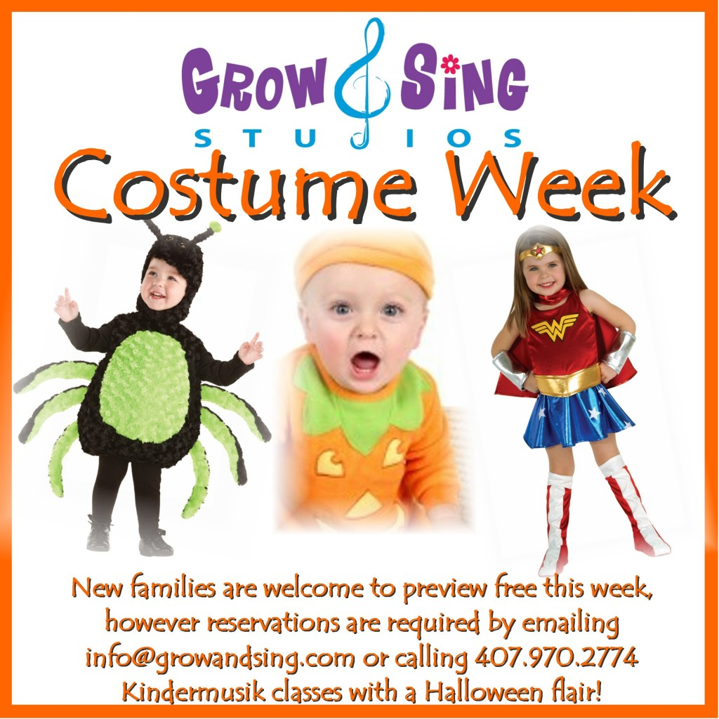 Kindermusik orlando costume week