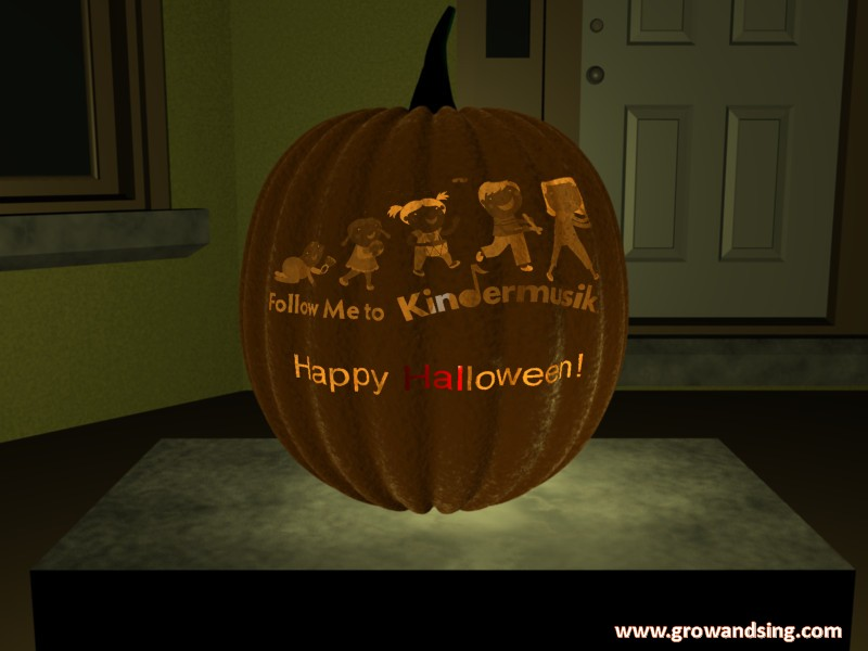 Kindermusik Halloween Pumpkin