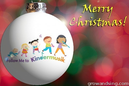Kindermusik Ornament
