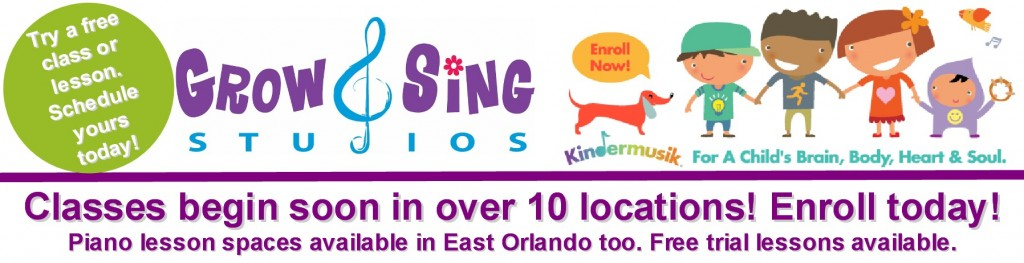 Spring into Kindermusik - themes and enrollment information!
