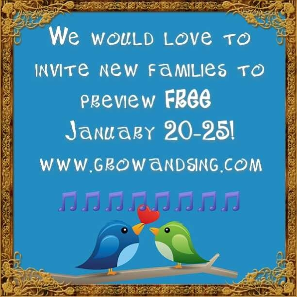 new family preview invite