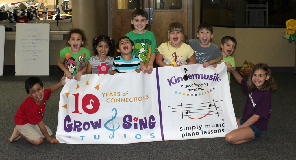 Kindermusik camp 2014 Orlando Florida at Grow and Sing Studios