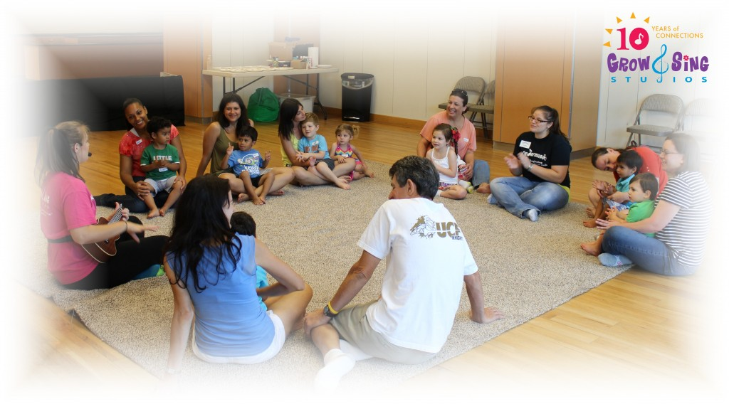 first day summer kindermusik Grow and Sing Studios pic