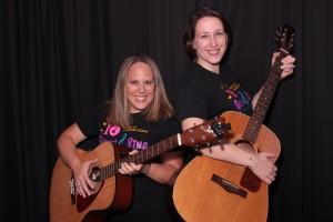 kristin and holly - guitar