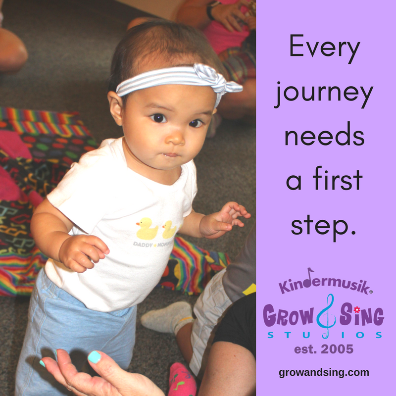 Every journey needs a first step.
