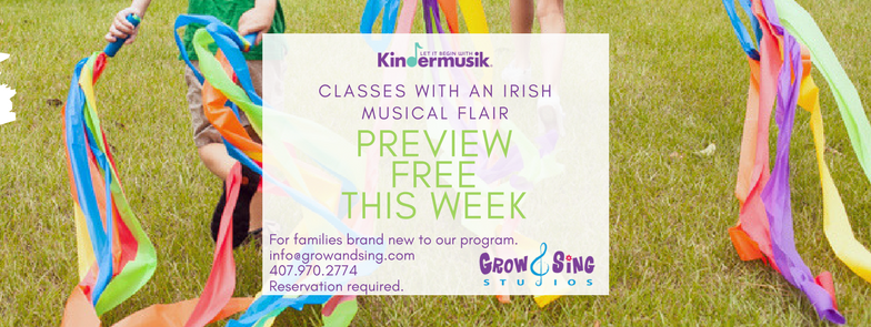 Irish Kindermusik Preview Class