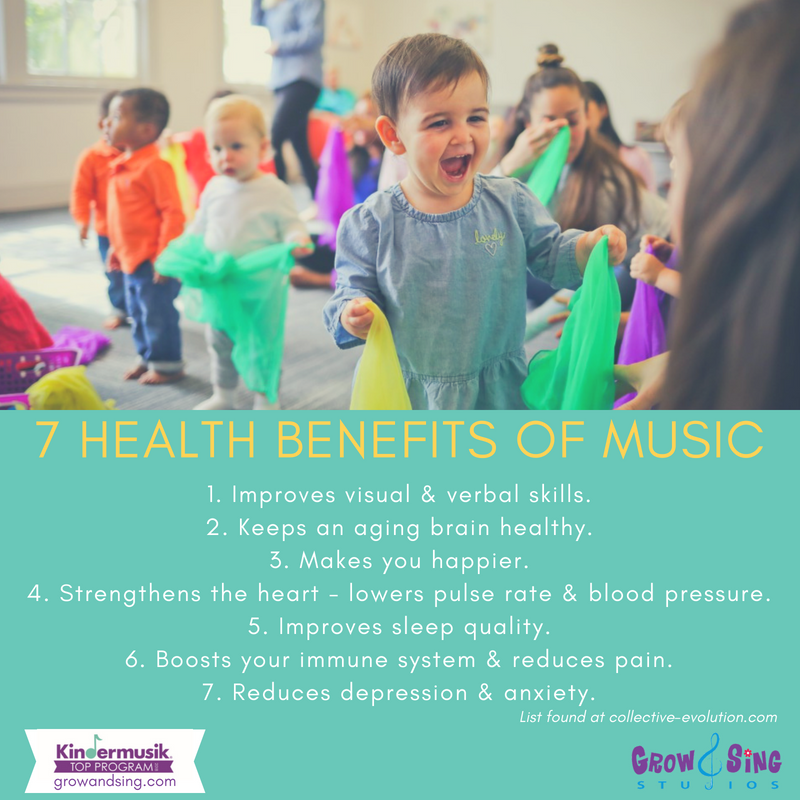 7 Health Benefits of Music