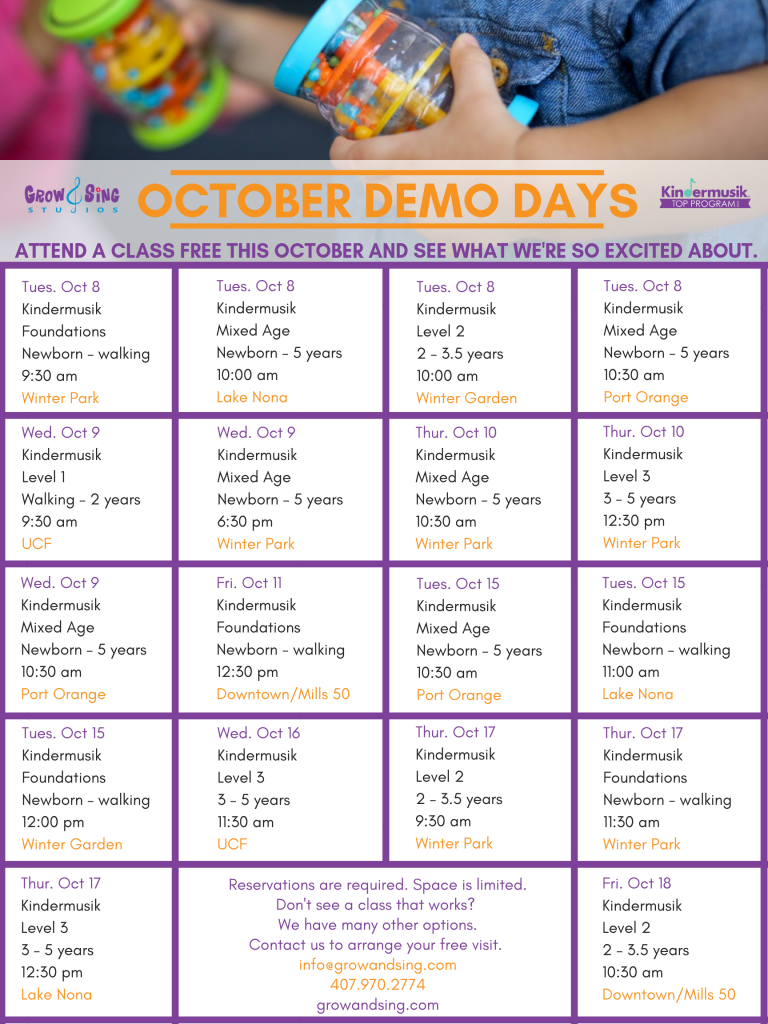 OCTOBER DEMO DAYS 2019